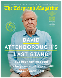 David Attenborough Portraits